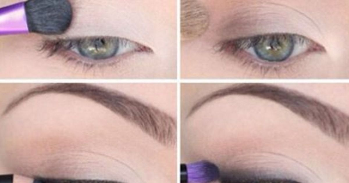 Dezentes Augen Make Up