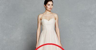 Wunderschön: Ein Hochzeitskleid im Ombré-Look